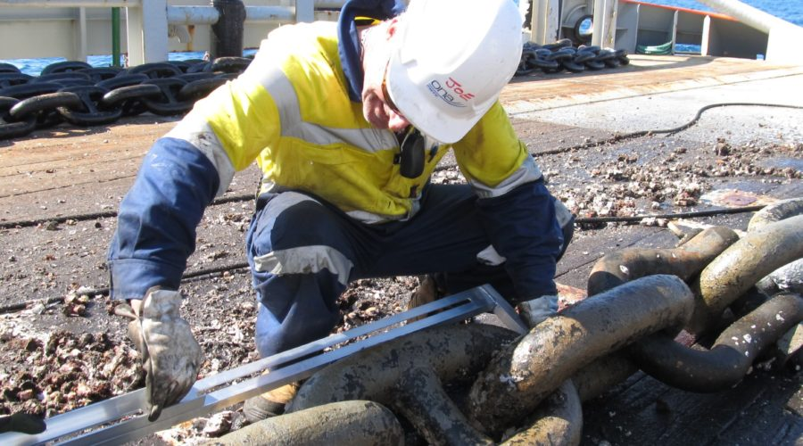 Offshore Chain Inspection